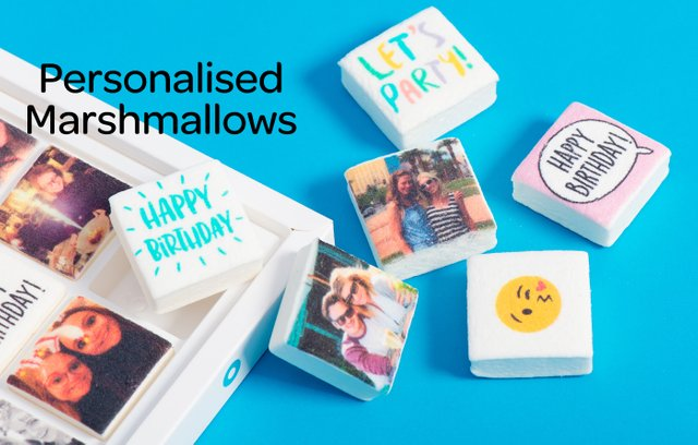 Boomf Exploding Confetti Cards And Personalised Marshmallows For